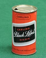CARLING BLACK LABEL BEER, CARLING BREWING CO. NATICK, MASS. FLAT TOP CAN # 37-39