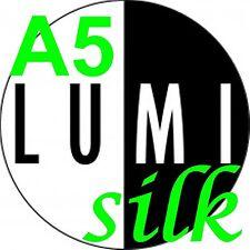 130 gsm A5 LUMI SILK x 150 sheets 2 SIDED LASER / DIGITAL / CRAFT PRINTER PAPER