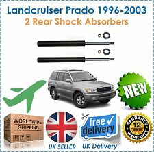 For Toyota Landcruiser Prado Colorado 1996-2003 TWO 2 Rear Shock Absorber Set
