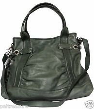 B MAKOWSKY GENUINE LEATHER SHOULDER BAG CROSSBODY SLING HIPSTER WOMENS PURSE ***