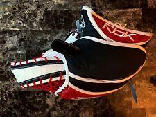 New listing Reebok Youth 6K Ice Hockey Goalie Glove Red, White and Black Gm6K Junior Regular