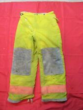 vintage Globe 32 x 28 Firefighter Turnout bunker fire Pants gear HALLOWEEN