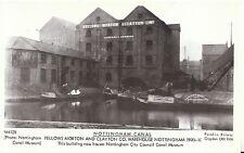 Nottingham Canal Postcard - Fellows Morton & Clayton Co Warehouse - Ref V2262