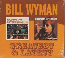 Bill Wyman - Greatest & Latest,Live/Just For A Thrill, 2CD Neu