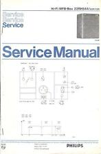 Philips Service Manual for MFB-Box 22 RH 544