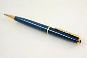 Old Seltener Parker Luxus-Drehbleistift Gray Blue/Gold, Mine 1.0 Mm. (K95)