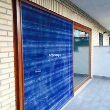 Zanzariera ZiZa plissè max 2 cm di ingombro porta finestra rete plissettata