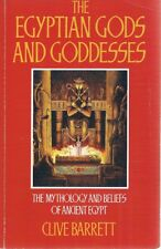 The Egyptian Gods And Goddesses by Barrett Clive - Book - Soft Cover
