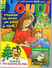 Revue YOUPI  183 avoir un bébé la mésange magazine documentaire enfant 5 / 8 ans