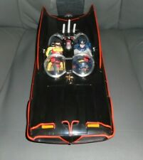 "Mattel Classic TV Series 1966 Batmobile W/ Classic 1966 Batman/ Robin 6"" Figures"