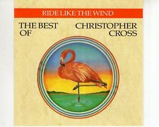 CD CHRISTOPHER CROSS	ride like the wind	EX-(B2536)