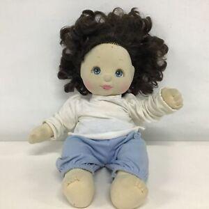 Mattel My Child Doll with Short Brunette Hair & Blue Eyes #451
