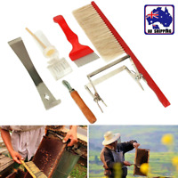 7 in 1 Beekeeping Equipment Tool Bee Brush Catcher Cage Hive Holder HRO001022
