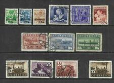 Austria - 1935-37 selection inc sets - Mint & Used