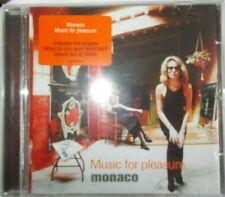 MONACO - MUSIC FOR PLEASURE  - UK 10 TRK CD - VERY CLEAN - INDIE - NEW ORDER