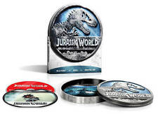 Jurassic World (Blu-ray/DVD, Digital HD, Limited Edition Steel Case) Brand New