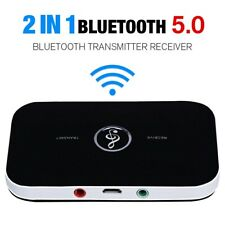 BLUETOOTH EMPFÄNGER HIFI Bluetooth Transmitter KLINKE Adapter CINCH 5.0 Audio DE