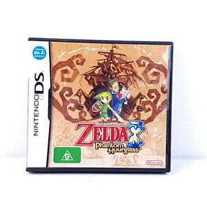The Legend Of Zelda Phantom Hourglass + Manual - Nintendo DS - TRACKED POST