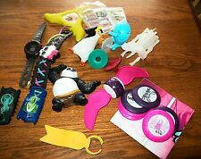 Lot of 12 Kids Meal Toys Nerf, Hex Bug, Kung Fu Panda, Penguins, Spy Gear + More