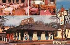 Oregon Ohio Pizza Hut Advertising Vintage Postcard J46223