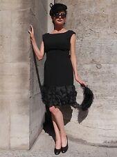 """KLEID """"kleines Schwarzes"""" 50er wie 20er Charleston Abendkleid TRUE VINTAGE dress"""