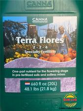 CANNA - Terra Flores 20L - Specialty Fertilizer (Big Bottle 20 Liters)