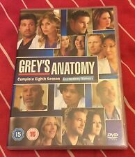 Grey's Anatomy - Series 8 - Complete (DVD, 2012, 6-Disc Set, Box Set)
