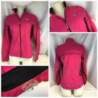 Pearl Izumi IQ Convertible Cycling Jacket S Women Pink Full Zip Mint YGI 579
