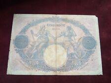 More details for france - 50 francs 1917 - rare banknotes