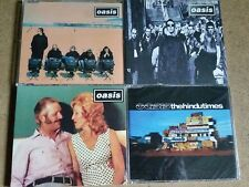 CD COLLECTION LOT COLLECTION 4 x pièce Oasis-Britpop Liam Noel Gallagher