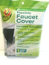 Duck Brand Soft Flexible Insulated Faucet Cover Protects Pipes Easy Install NIB