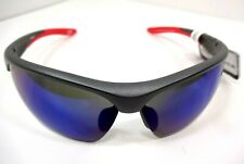 REEBOK HANDSOME MEN SPORT WRAP SUNGLASSES, MIRRORED LENS,  SUPER COOL! RPH0519