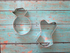 Bridal Shower Cookie Cutter Set - Ring and Corset