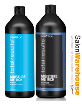 Matrix Total Results Moisture Shampoo and Conditioner 1 Litre Duo Pack Aus Stock