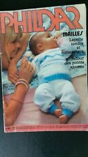 Catalogue  revue PHILDAR Mailles N°56 - LAYETTE tendre romantique 1977