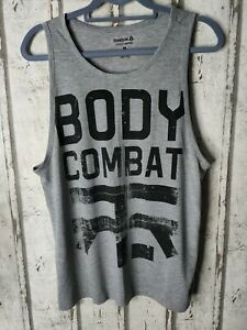 Reebok les mills Body Combat vest Grey Medium unisex
