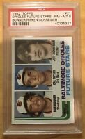 Cal Ripken Jr. Rookie PSA 8 NM-MT 1982 Topps #21