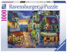 RAVENSBURGER PUZZLE*1000 TEILE*EIN ABEND IN PARIS*RARITÄT*OVP