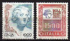 #2038 - Repubblica - Francobolli con riga di colore - Usati / Varietà