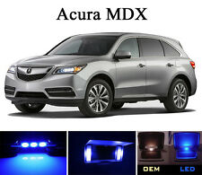 Ultra Blue Vanity / Sun visor  LED light Bulbs for Acura MDX (4 Pcs)