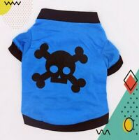 Dog Clothes Small Dog Cat Vest Puppy T-Shirt Coat Pet Summer Apparel Costumes US