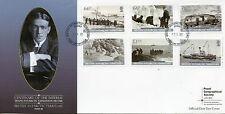 Br Antarctic Terr BAT 2015 FDC Imp Trans-Antarctic Expedition Pt III 6v Stamps