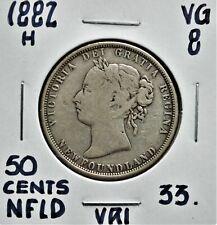 1882-H Newfoundland 50 cents