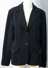 LANA LEE Size 14 Black Fully Lined Blazer