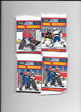 NHL Hockey 1990 Score 15 player cards-5 packages