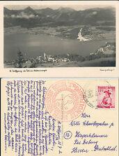ST. WOLFGANG  a.S. Hotel  Weisses  Rössl  im Salzkammergut  Postkarte Österreich