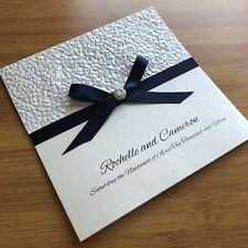Handmade Wedding Invitation / Engagement Invitation Custom Personalised SAMPLE