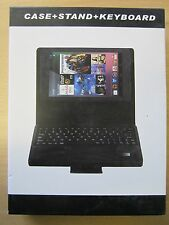 Bluetooth Leather Carry Keyboard Case Stand for ASUS Google Nexus 7 Tablet