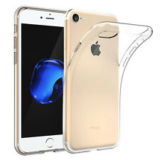 "Housse Etui Coque Gel UltraSlim TRANSPARENT pour Apple iPhone 7 4.7"""
