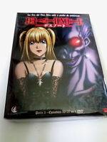 """DVD """"DEATH NOTE PARTE 3"""" 3DVD COMO NUEVO DIGIPACK CAPITULOS 26 AL 37"""